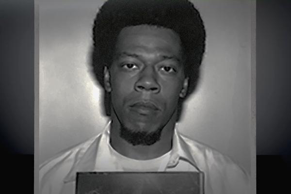 Prison mugshot of man
