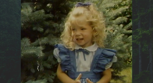 Rachel Runyon, young girl with curly blonde hair