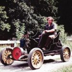 Granger Taylor Driving Car