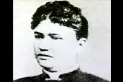 A tintype of Abby Borden.