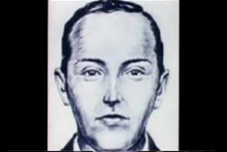 A police sketch of DB Cooper.