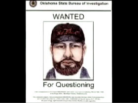 A wanted poster for Lenny Dirickson