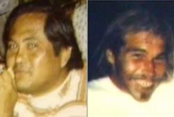 Two Hawaiian men, Benjamin Kalama and Patrick Woesner, both have short dark hair.