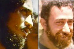 One Hawaiian man, Ralph Malaiakini and one caucasian man, Peter Hanchett. Both have short curly hair and a full beard.