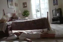 Jamie's lifeless body on the floor of her bedroom