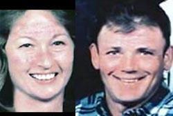 Smiling Kathy and Danny Freeman