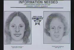 Flyer with police sketch of 'P' that reads 'Information Needed'