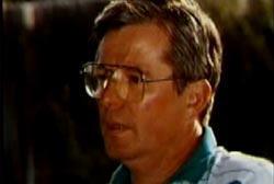 Roger Dean in a polo shirt wearing glasses