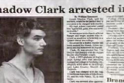 New's article titled 'Shadow Clark arrested-'