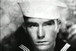 James Edward Johnston in sailor uniform