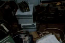 a locker full of stolen telephone company equipment