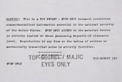 A military document describing the scene