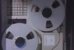 Gray tape recording machine