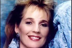 Kathy Page with a smile