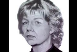 Digitally age progressed photo of Sharon Kinne