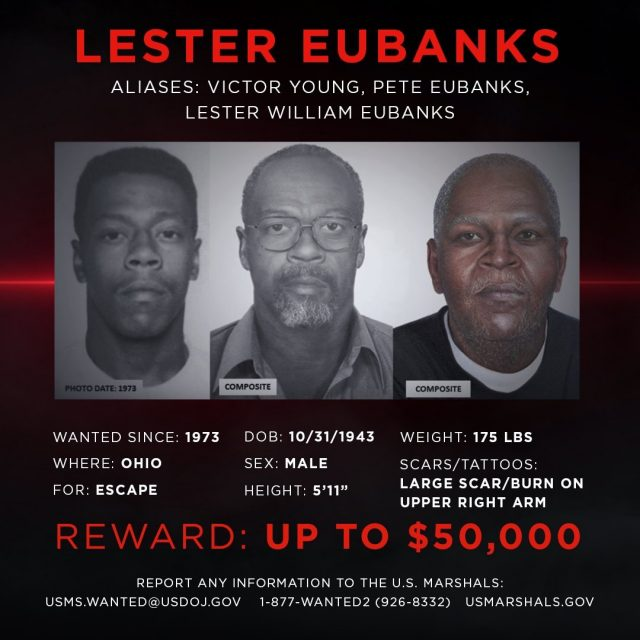 No disguise can mask the horrific acts of Lester Eubanks. The US Marshals Service is now offering $50,000 for information leading to his capture. Submit a tip to unsolved.com/tips. #unsolvedmysteries #wanted