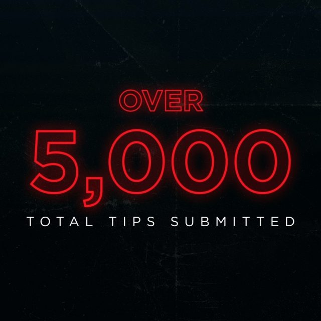 We'd like to think Robert Stack would be proud. Since the release of Unsolved Mysteries: Volume 1, over 5,000 tips have been submitted to unsolved.com. Together, we can help solve mysteries. #unsolvedmysteries