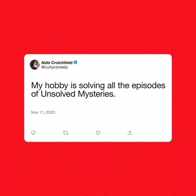 Viewers like you have spoken. Share your thoughts on Unsolved Mysteries.